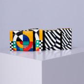 Paperwallet . Um projeto de Ilustração, Design gráfico e Pattern Design de Alex Foxley - 12.09.2020