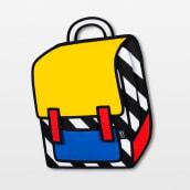 Jump From Paper. Um projeto de Ilustração, Design de produtos e Pintura Acrílica de Alex Foxley - 12.09.2020