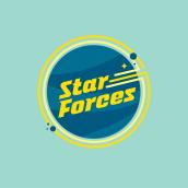Star forces. Un proyecto de Br, ing e Identidad, Diseño gráfico y Diseño de logotipos de Estefanía C.M. - 15.10.2018