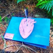 Mi Proyecto del curso: Cartografía del Amor / Libro mapa pop up desplegable . A Editorial Design, Creativit, and Bookbinding project by Silvia Hijano Coullaut - 09.16.2020