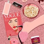 Vogue & Netflix. Un proyecto de Ilustración digital de Jokin de Cerio - 19.09.2020