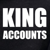 King Accounts. A UI / UX project by Mario Ferrer - 09.21.2020
