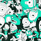 Treehouse Monsters. A Illustration, Art Direction, Br, ing, Identit, Character Design, Vector Illustration, Creativit, Drawing, Digital illustration, and Digital Drawing project by Loor Nicolas - 09.22.2020