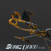 SONIC DARD 8-500. A 3D Animation project by Jorge Lerones - 09.27.2020
