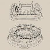 Estadios - Rompecabezas 3D. A Industrial Design project by Diego Fernández - 09.29.2020