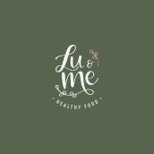 Mi Proyecto del curso: Lu&Me. Un projet de Design graphique de Camila Núñez - 11.09.2020
