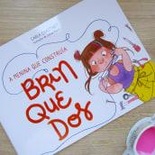 LIVRO • A menina que construía brinquedos. A Illustration, Kinderillustration und Editorial Illustration project by Juliana Rabelo - 02.10.2020