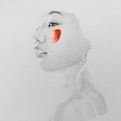 LIGHTNESS series. Un progetto di Belle arti, Disegno a matita, Disegno, Disegno di ritratto, Disegno realistico , e Disegno artistico di lantomo - 03.10.2020