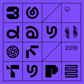 36 Days of Type —2019. A Art Direction, Graphic Design, Lettering, and Logo Design project by Rubén Ferlo - 10.05.2020