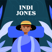 Animación cuadro a cuadro: Indi Jones. A Illustration, Character Design, Character animation, and 2D Animation project by David Pou Fernández - 10.05.2020
