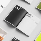 Eclectic Workspace. A Art Direction, Br, ing, Identit, Editorial Design, Graphic Design, and Logo Design project by Rubén Ferlo - 05.28.2020