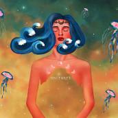 Sweet Dreams. Un proyecto de Diseño, Concept Art, Dibujo de Retrato, Dibujo realista, Dibujo artístico y Dibujo digital de Jennifer Pupo Martínez - 07.10.2020