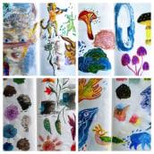 Mi Proyecto del curso: Técnicas de ilustración para desbloquear tu creatividad. Un proyecto de Ilustración, Bellas Artes, Pintura, Bocetado, Creatividad, Dibujo, Concept Art, Brush painting y Sketchbook de Oksana Tsvetkova - 07.10.2020