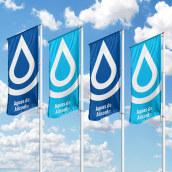 Aguas de Alicante (Rebranding).. Un proyecto de Br, ing e Identidad y Diseño gráfico de Sergio Devesa - 07.10.2020