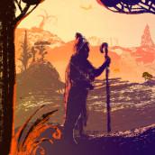 Mi Proyecto del curso: Ilustración narrativa digital con luz y sombra. Un proyecto de Bocetado, Creatividad y Concept Art de Oksana Tsvetkova - 07.10.2020