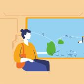 KEATON   EDEN Carbón Neutral. Um projeto de Motion Graphics, Animação e Ilustração digital de Margarito Estudio - 08.10.2020
