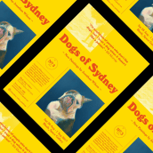 Dogs of Sydney. A Br, ing, Identit, and Editorial Design project by Friendhood Studio - 08.26.2017