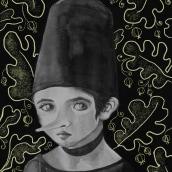 Mi Proyecto del curso: Introducción a la ilustración con tinta china. Un proyecto de Bellas Artes, Bocetado, Dibujo, Concept Art e Ilustración con tinta de Oksana Tsvetkova - 10.10.2020