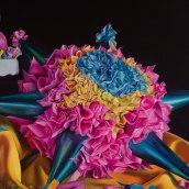 Piñata - Oleo sobre lienzo (danielavelezfineart). A Illustration, Crafts, Fine Art, Painting, and Oil painting project by daniela_velez - 10.11.2020