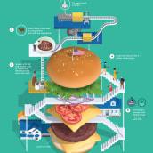 Recipe. Un projet de Illustration, 3D et Infographie de Jing Zhang - 13.10.2020