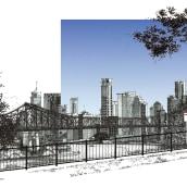 WINTERS DAY. 2018 AUG. Un proyecto de Bocetado, Dibujo, Dibujo artístico e Ilustración arquitectónica de Alan Innes - 21.08.2018