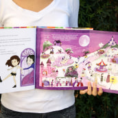 Livro infantil sobre Psicologia das Cores. A Watercolor Painting, Children's Illustration, and Color Theor project by Luiza Normey - 10.14.2020