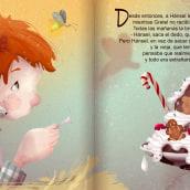 Un hueso de pollo. Un projet de Illustration, Dessin, Illustration numérique, Illustration jeunesse , et Dessin numérique de Maria Paniagua - 15.10.2020