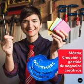 Máster Creación y gestión de negocios creativos. Un progetto di Educazione di Mònica Rodríguez Limia - 19.10.2020