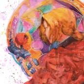Taboo (2020). Um projeto de Ilustração, Artes plásticas e Pintura em aquarela de Geoff Pascual - 08.05.2020