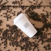 Lattecafe. Un progetto di Br, ing e identità di marca, Architettura d'interni , e Packaging di Un Barco - 26.03.2020