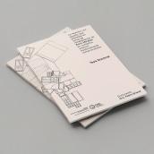 On Enric Miralles' work. PHD Thesis. Un proyecto de Arquitectura, Dirección de arte, Diseño editorial, Diseño gráfico y Tipografía de Diego Pinilla Amaya - 26.10.2020