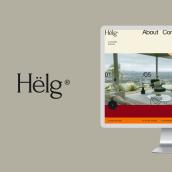 Helg. Um projeto de UI / UX, Web design e Design digital de Adrián Somoza - 26.10.2020