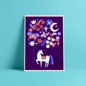 Mi Proyecto del curso: Ilustración flat con Photoshop. Un proyecto de Diseño, Ilustración, Diseño gráfico, Ilustración digital, Ilustración textil, Ilustración infantil e Ilustración botánica de Clara Tabales - 27.10.2020
