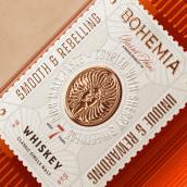 Bohemia Whiskey. Um projeto de Design, 3D e Packaging de Rafael Maia - 27.10.2020