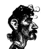 Retratos de músicos.. Um projeto de Ilustração, Desenho de Retrato, Desenho artístico, Ilustração com tinta e Ilustração editorial de Lem Castañeda - 27.10.2020