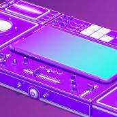 VIVA Network - Ogilvy. Un projet de Motion Design, 3D, Direction artistique , et Animation 3D de Lucas Casagrande - 28.10.2020