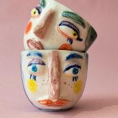 Mi Proyecto del curso: Técnicas de ilustración y modelado en cerámica. A Illustration, Kreativität, Dekoration von Innenräumen und Keramik project by Chel Salinas - 28.10.2020