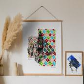 Trips. Um projeto de Ilustração, Artes plásticas e Ilustração com tinta de Maite Diez - 29.10.2019