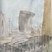 From Tate Modern. Un progetto di Illustrazione di Alessandra Cesarato - 29.10.2020