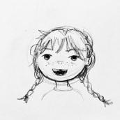 Character Design for Children's Book. Un progetto di Character Design, Bozzetti, Disegno a matita, Disegno e Illustrazione infantile di Nicole Roberts - 30.10.2020