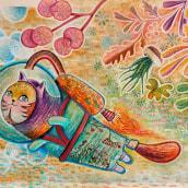 Mi Proyecto del curso: Técnicas de ilustración para desbloquear tu creatividad. Un proyecto de Ilustración infantil de ENRIQUE PARRA - 31.10.2020