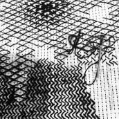 Mi Proyecto del curso: Introducción al bordado en blackwork. Um projeto de Bordado de Aura R. Cruz Aburto - 01.11.2020