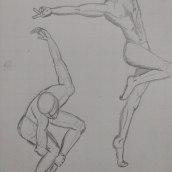 Mi Proyecto del curso: Dibujo anatómico para principiantes. Um projeto de Desenho a lápis e Desenho anatômico de Luz Marina Ángel Altamirano - 02.11.2020