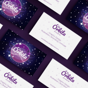 Logo + Tarjeta de Visita para En Órbita Studio. A Graphic Design, and Logo Design project by Ainoa Flores - 11.02.2020