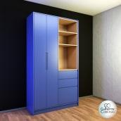 SketchUp e V-Ray: Armário multiuso . Um projeto de Design, 3D, Arquitetura, Design de móveis, Arquitetura de interiores, Design de interiores e Modelagem 3D de Guilherme Coblinski Tavares - 03.11.2020