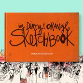My dirty and orange Sketchbook (2016-2017). Un progetto di Illustrazione , e Arte urbana di Maru Godas - 03.11.2020
