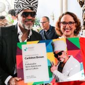 Embaixador Ibero-Americano para a Cultura. A Music, Audio, and Music Production project by Carlinhos Brown - 11.04.2020