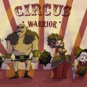 Circus warrior. Un proyecto de Ilustración, Diseño de personajes, Dibujo y Dibujo digital de Rebeca Castillo - 06.11.2020