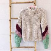 Mi Proyecto del curso: Crochet: crea prendas con una sola aguja. Un progetto di Artigianato, Creatività, Fashion Design, Cucito , e Tintura tessile di Alicia Recio Rodríguez - 20.10.2020