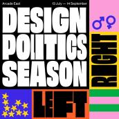 Design & Politics Season: London College of Fashion. Un progetto di Design, Motion Graphics, Direzione artistica, Br, ing e identità di marca, Graphic Design, Animazione 2D , e Comunicazione di Nathan Smith - 20.07.2019